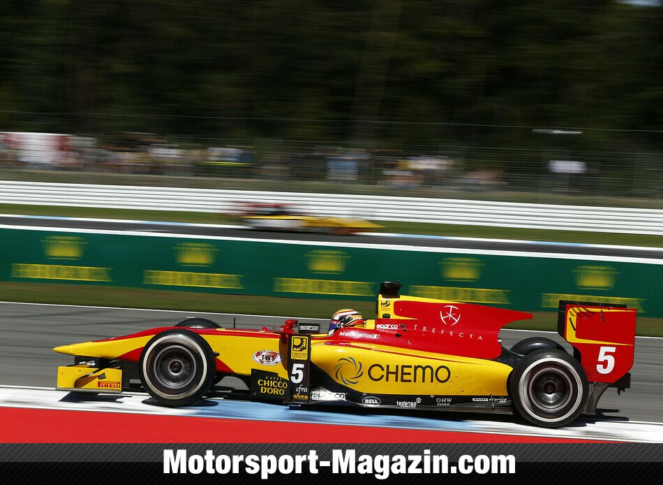GP2 2014, Hockenheim, Hockenheim, Raffaele Marciello, Racing Engineering, Bild: GP2 Series