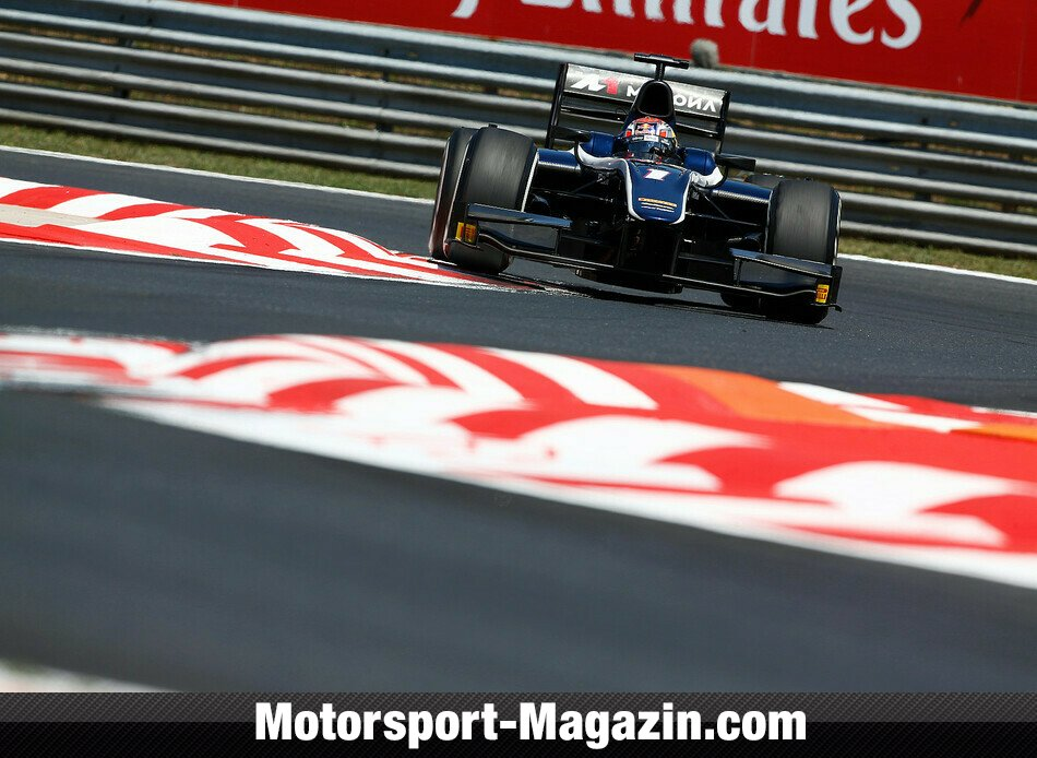GP2 2014, Budapest, Budapest, Mitchell Evans, RT RUSSIAN TIME, Bild: GP2 Series