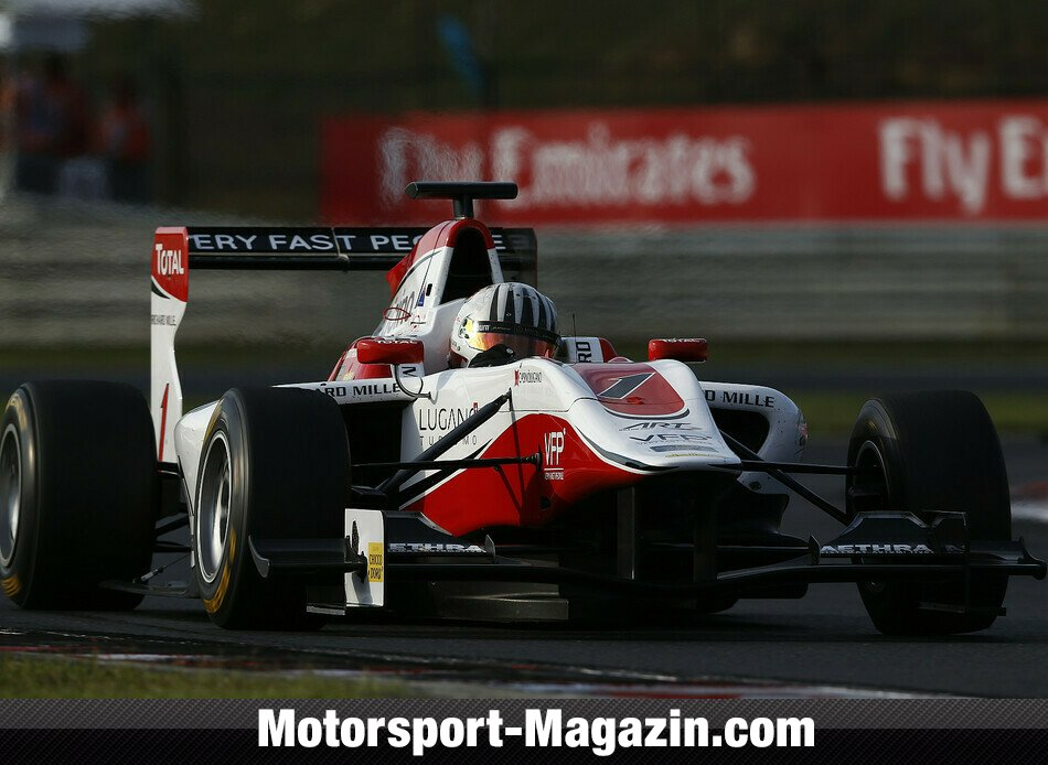 GP3 2014, Hungaroring, Budapest, Alex Fontana, ART Grand Prix, Bild: GP3 Series