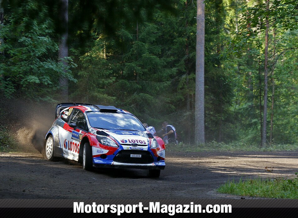 WRC 2014, Rallye Finnland, Jyv�skyl�, Robert Kubica, RK M-Sport World Rally Team, Bild: Ford