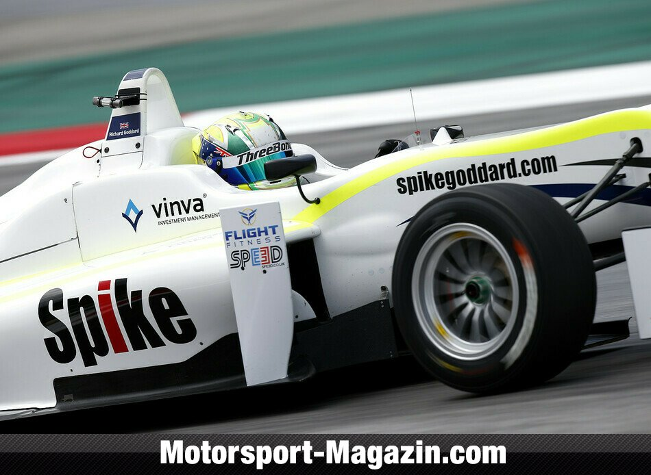 Formel 3 EM 2014, Red-Bull-Ring, Spielberg, Richard Goddard, ThreeBond with T-Sport, Bild: FIA F3