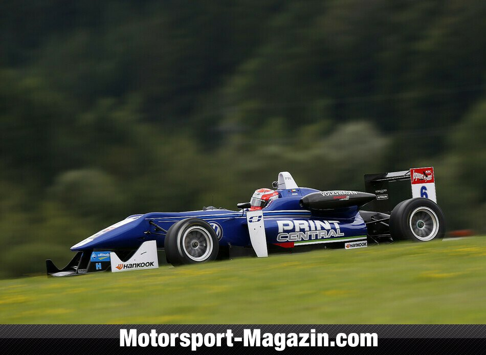 Formel 3 EM 2014, Red-Bull-Ring, Spielberg, Edward Jones, Carlin, Bild: FIA F3