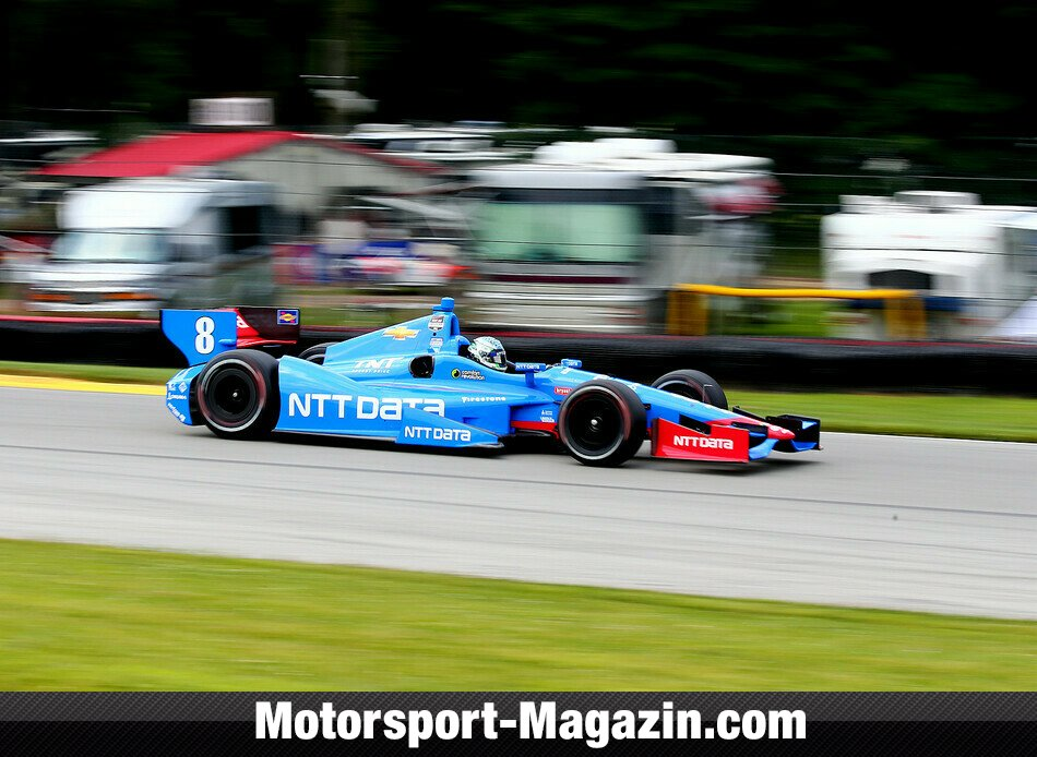 IndyCar 2014, Mid-Ohio, Lexington, Ohio, Ryan Briscoe, NTT Data Chip Ganassi Racing, Bild: IndyCar