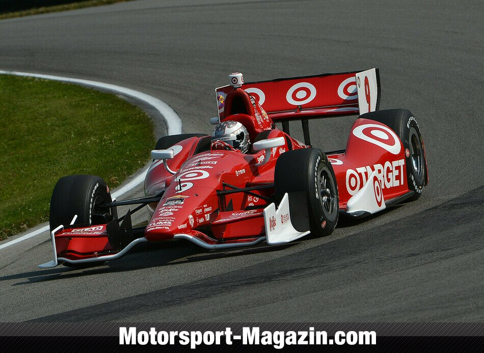 IndyCar 2014, Mid-Ohio, Lexington, Ohio, Scott Dixon, Target Chip Ganassi Racing, Bild: IndyCar