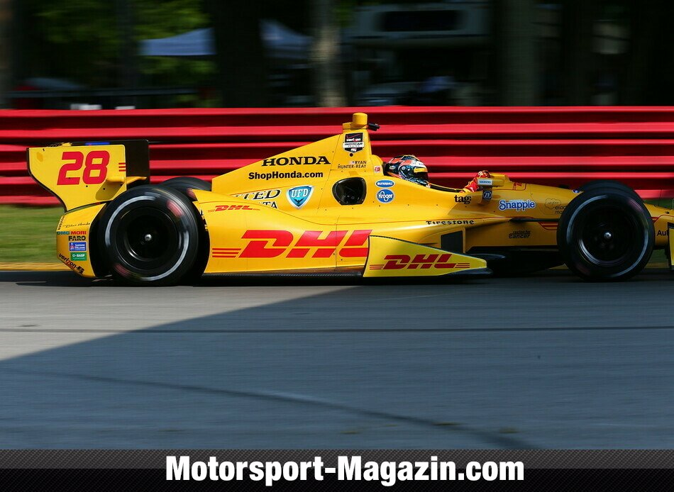 IndyCar 2014, Mid-Ohio, Lexington, Ohio, Ryan Hunter-Reay, Andretti Autosport, Bild: IndyCar