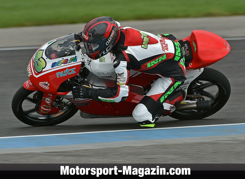 Moto3 2014, Indianapolis GP, Indianapolis, Luca Gr�nwald, Kiefer Racing, Bild: Kiefer Racing