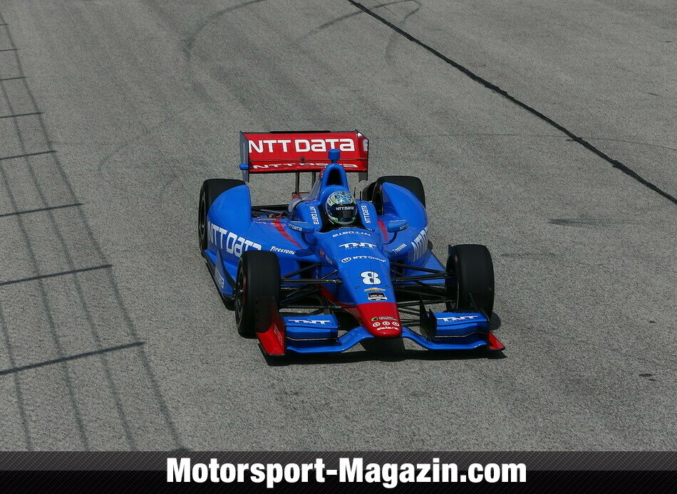 IndyCar 2014, Milwaukee, West Allis, Ryan Briscoe, Target Chip Ganassi Racing, Bild: IndyCar