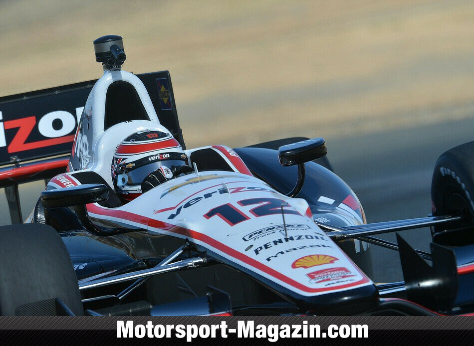 IndyCar 2014, Sonoma, Sonoma, Kalifornien, Will Power, Team Penske, Bild: IndyCar