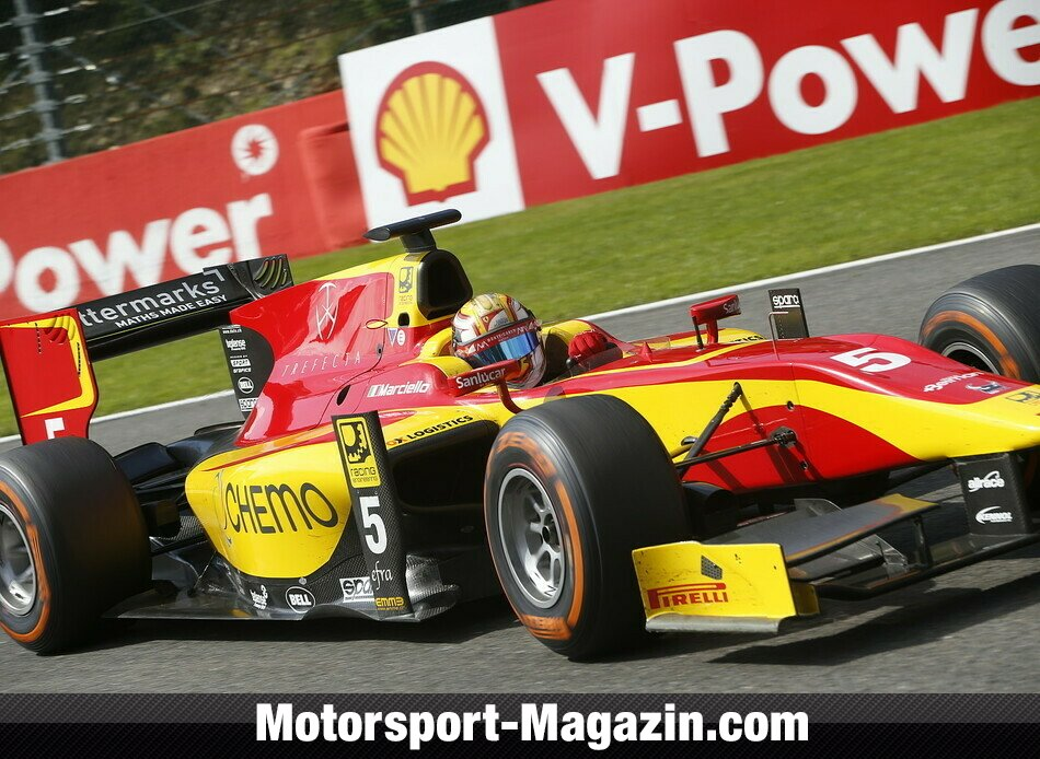 GP2 2014, Spa-Francorchamps, Spa-Francorchamps, Raffaele Marciello, Racing Engineering, Bild: GP2 Series