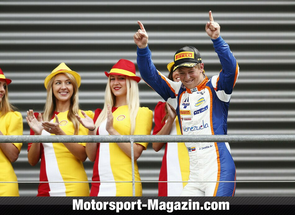 GP2 2014, Spa-Francorchamps, Spa-Francorchamps, Johnny Cecotto Junior, Trident Racing, Bild: GP2 Series