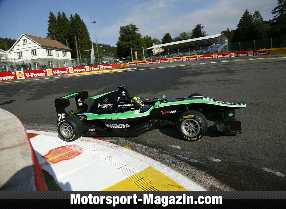 GP3 2014, Spa-Francorchamps, Spa-Francorchamps, Nick Yelloly, Status Grand Prix, Bild: GP3 Series
