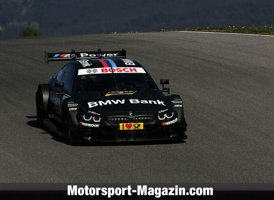 DTM 2015, Testfahrten, Bild: BMW