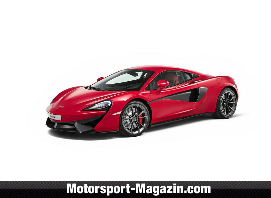 mclaren 540c: zweites modell der sports series - auto