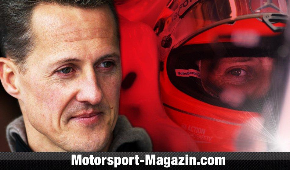 Michael Schumacher Foto Krankenbett
