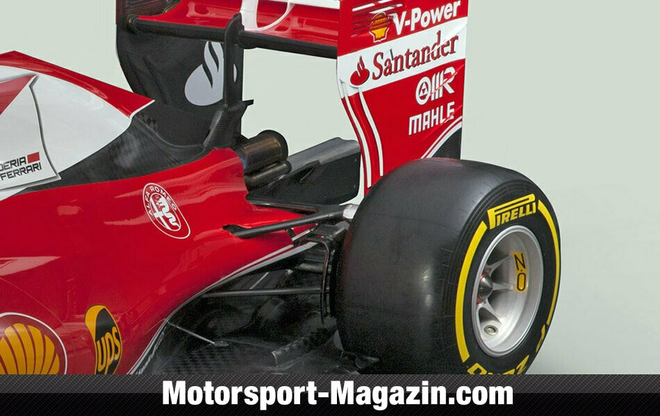 der ferrari sf16 h im technik check formel 1. Black Bedroom Furniture Sets. Home Design Ideas