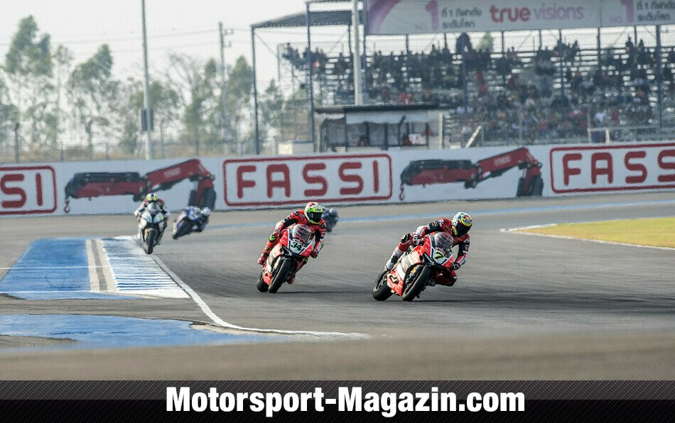 Superbike WSBK 2016, Thailand, Buriram, Aruba.it Racing-Ducati Superbike Team, Bild: Ducati