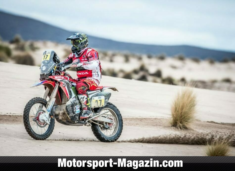 Dakar 2017, Bild: Monster Energy Honda Team