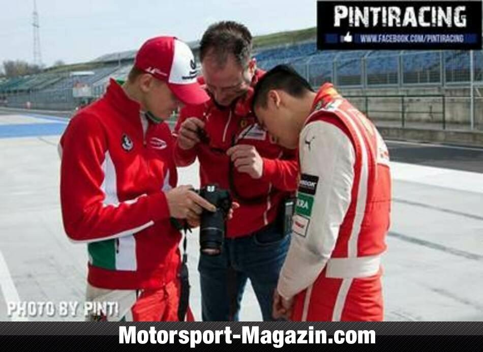 Formel 3 EM 2017, Testfahrten, Mick Schumacher, Prema Powerteam, Bild: Pinti