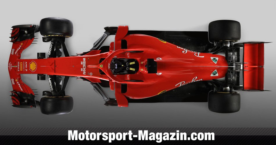 Formel 1 2018 Ferrari Sf71h Vettel Räikkönen Auf Wm Mission