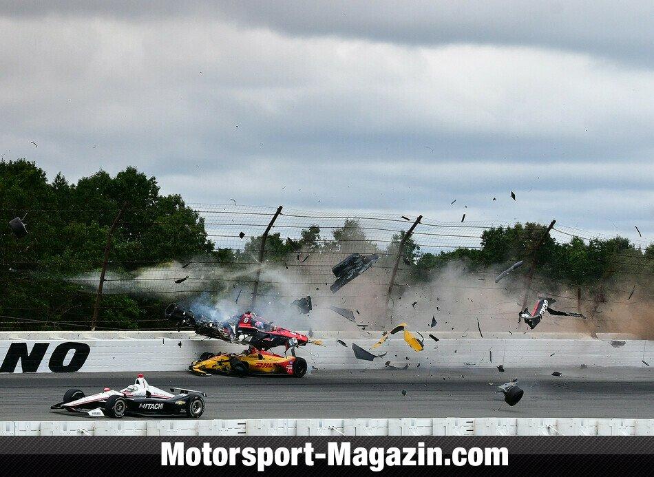 IndyCar 2018, Pocono, Long Pond, Pennsylvania, Bild: LAT Images