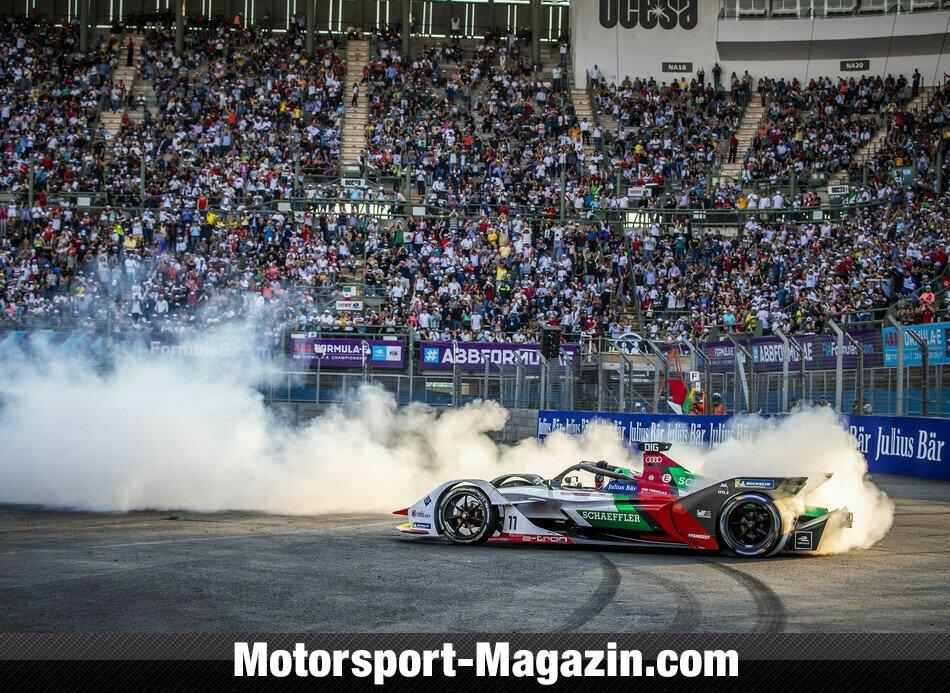 Formel E 2019, Mexiko ePrix, Mexiko City, Bild: Audi Communications Motorsport