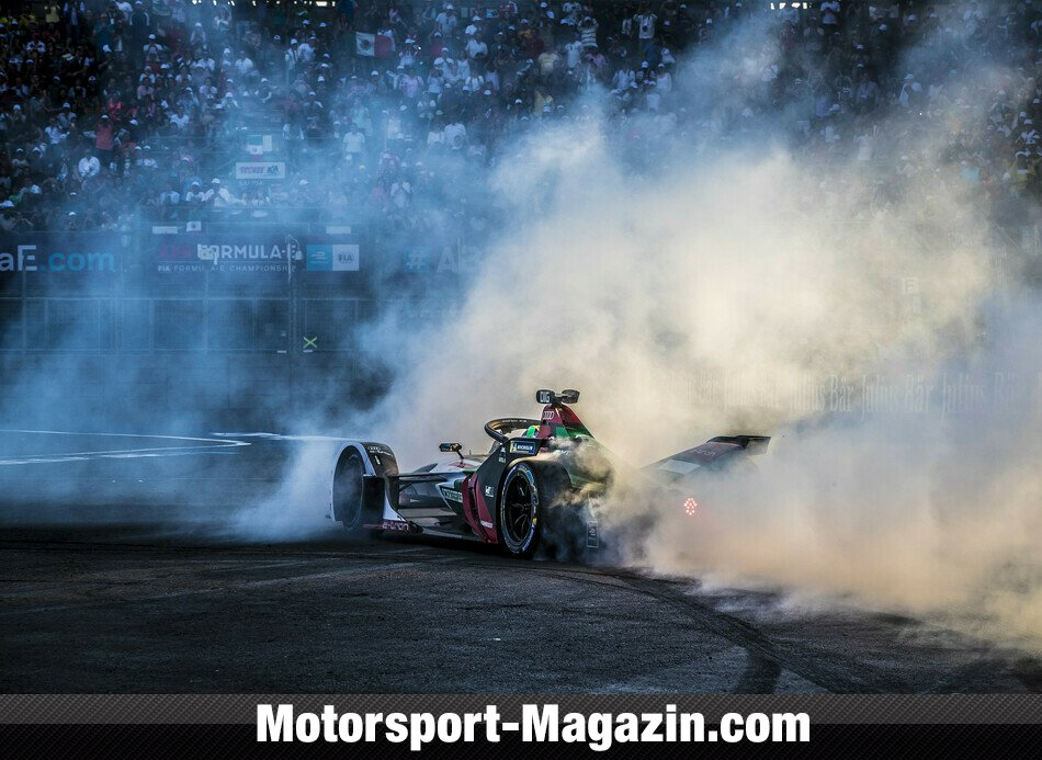 Formel E 2019, Mexiko ePrix, Mexiko City, Bild: Audi Communications Motorsport