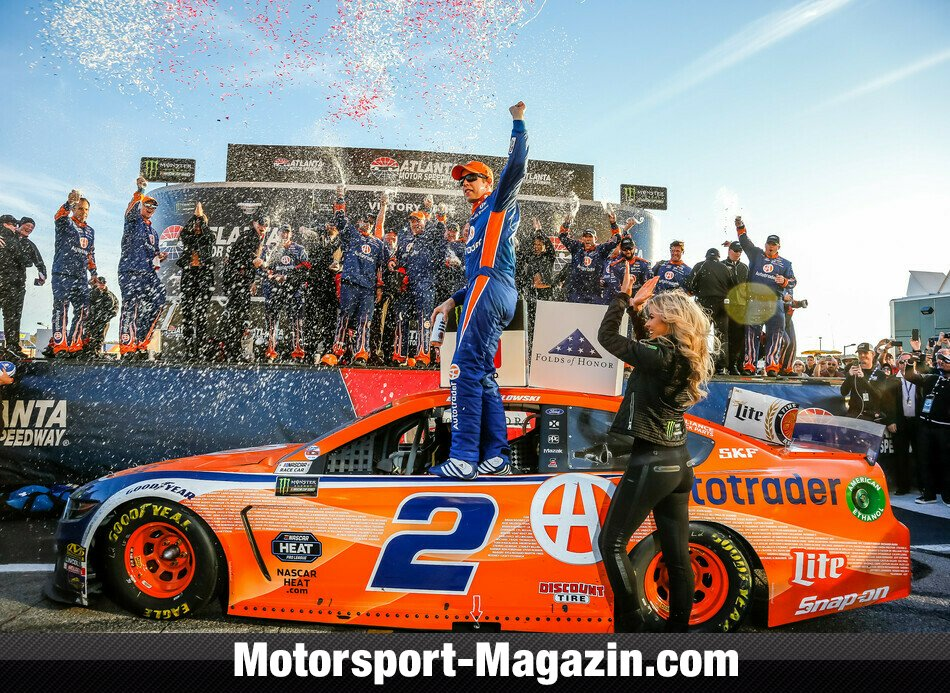 NASCAR 2019, Folds of Honor QuikTrip 500, Atlanta, Georgia, Brad Keselowski, Team Penske, Bild: LAT Images