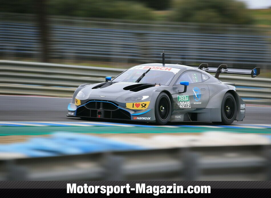 DTM 2019, Testfahrten, Bild: R-Motorsport