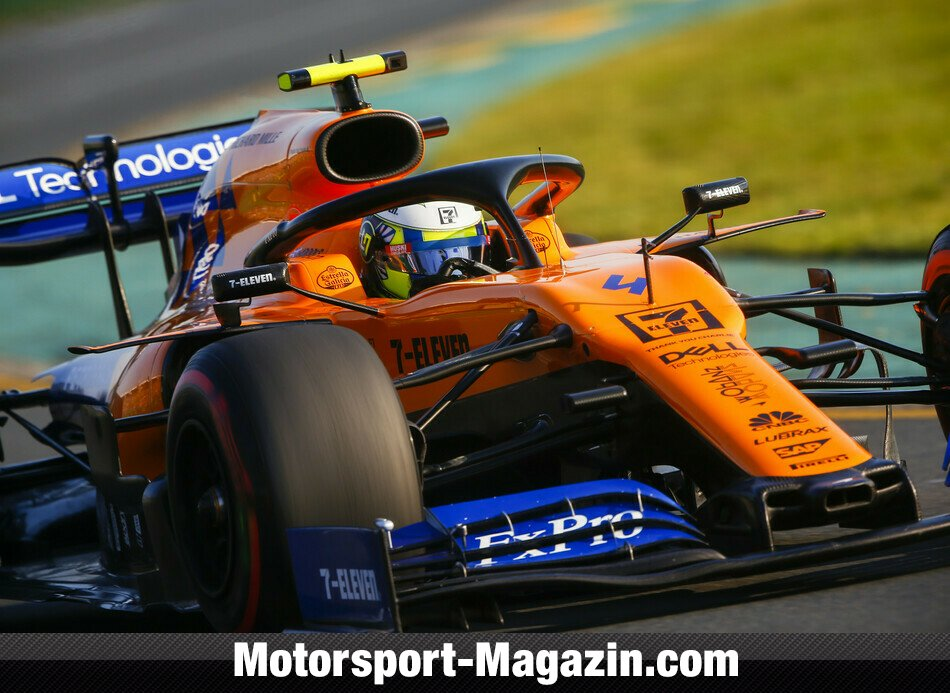 Formel 1 2019, Australien GP, Melbourne, Lando Norris, McLaren, Bild: LAT Images