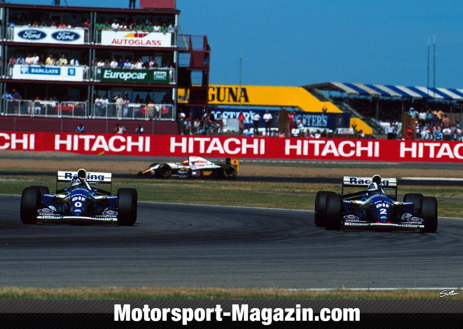 Formel 1 1994, Gro�britannien GP, Silverstone, David Coulthard, Williams, Bild: Sutton