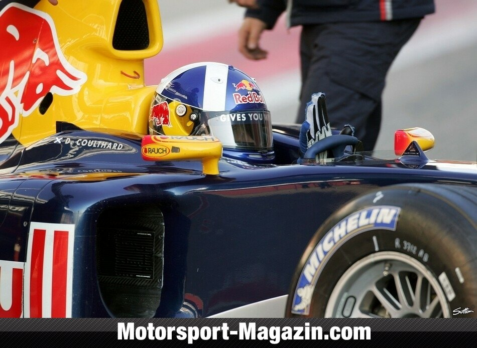 Formel 1 2005, Verschiedenes, David Coulthard, Red Bull Racing, Bild: Sutton
