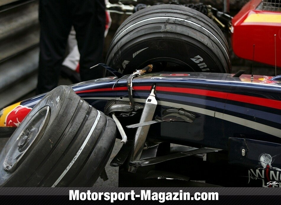 Formel 1 2008, David Coulthard, Red Bull, Bild: Sutton