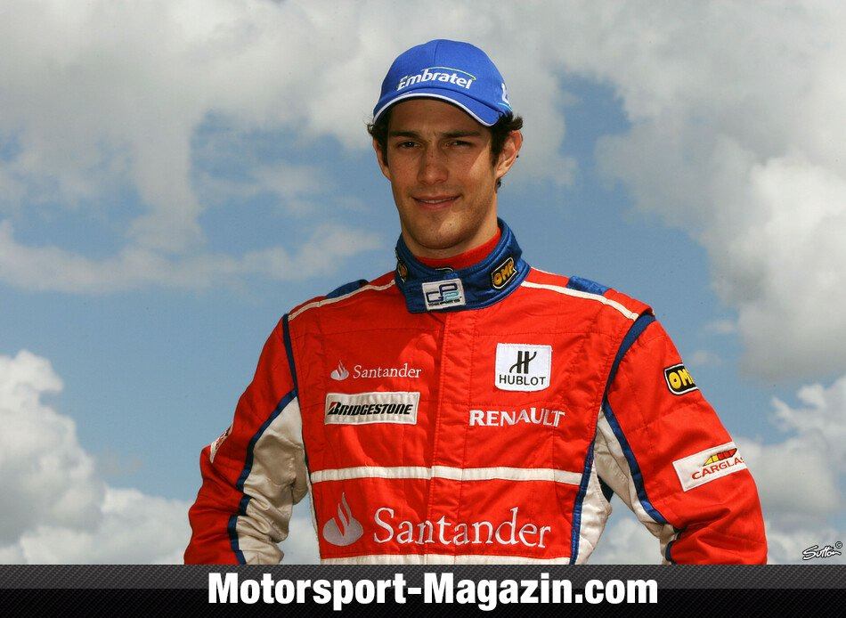 GP2 2008, Silverstone, Silverstone, Bruno Senna, iSport International, Bild: Patching/Sutton