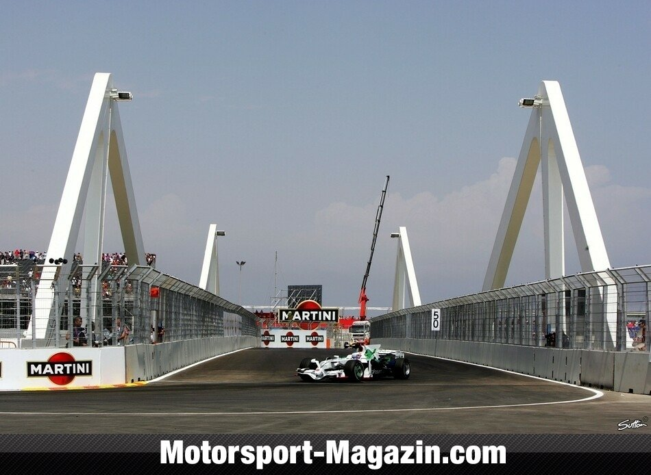 Formel 1 2008, Europa GP, Valencia, Jenson Button, Honda Racing, Bild: Sutton
