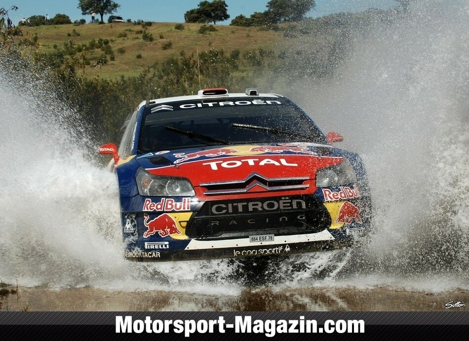 WRC 2009, Rallye Portugal, Algarve Stadium, Daniel Sordo, Citroen World Rally Team, Bild: Sutton