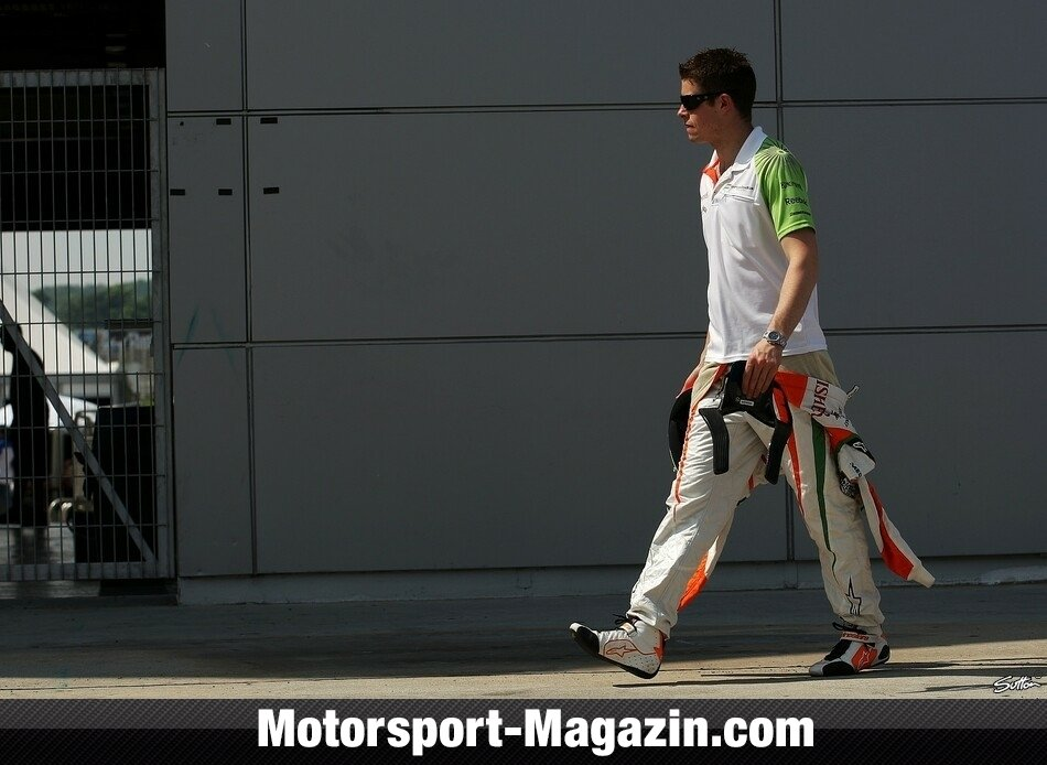 Formel 1 2010, Malaysia GP, Sepang, Paul Di Resta, Force India, Bild: Sutton