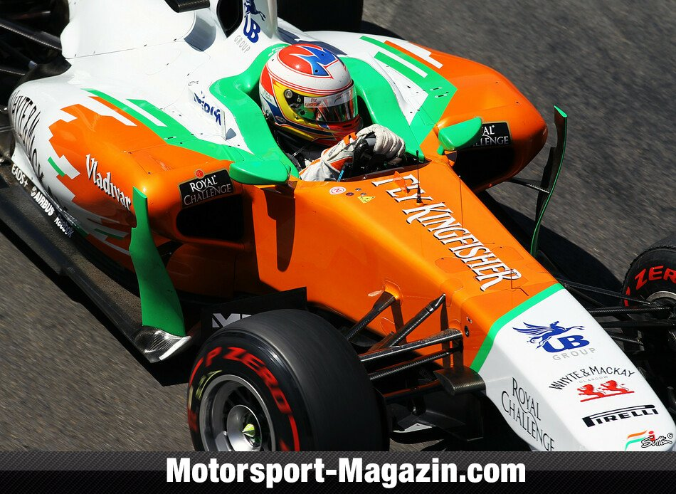 Formel 1 2011, Monaco GP, Monaco, Paul Di Resta, Force India, Bild: Sutton