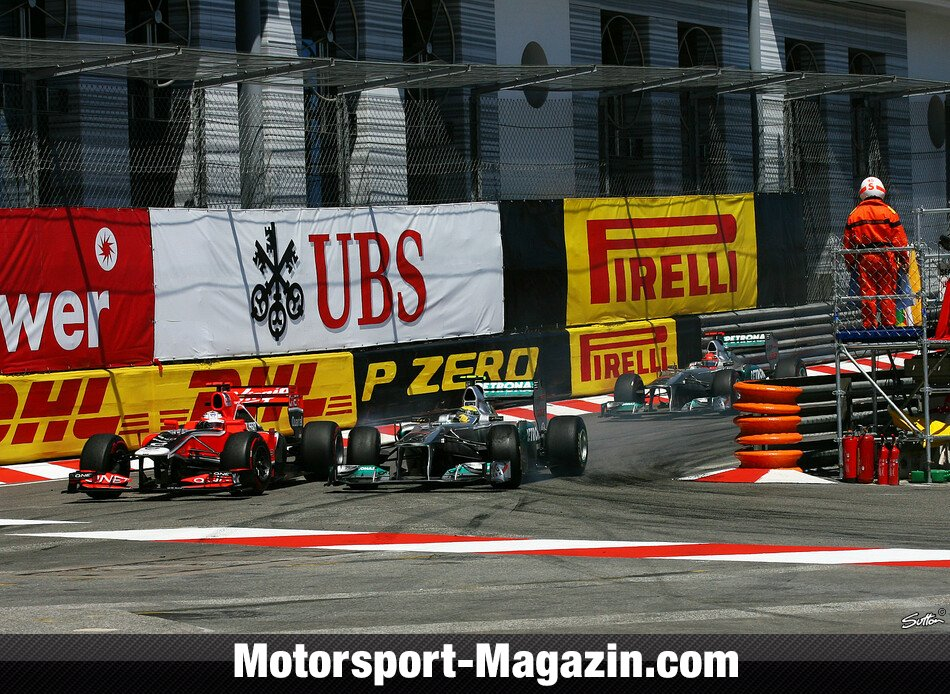 Formel 1 2011, Monaco GP, Monaco, Timo Glock, Virgin Racing, Bild: Sutton
