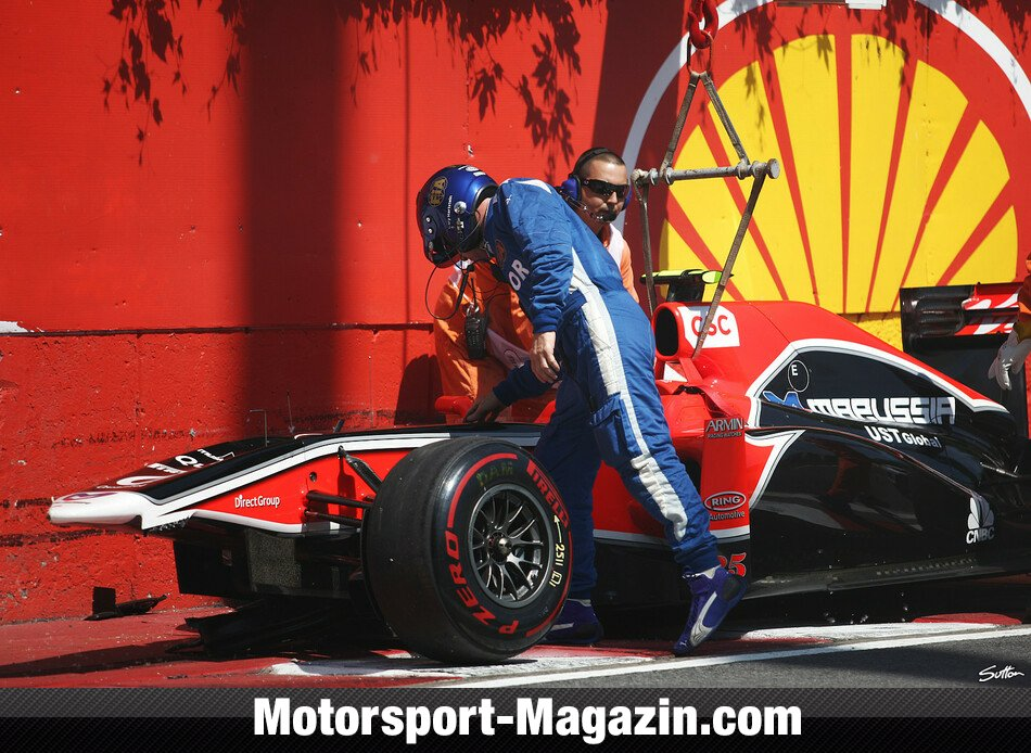 Formel 1 2011, J�r�me D'Ambrosio, Virgin Racing, Bild: Sutton