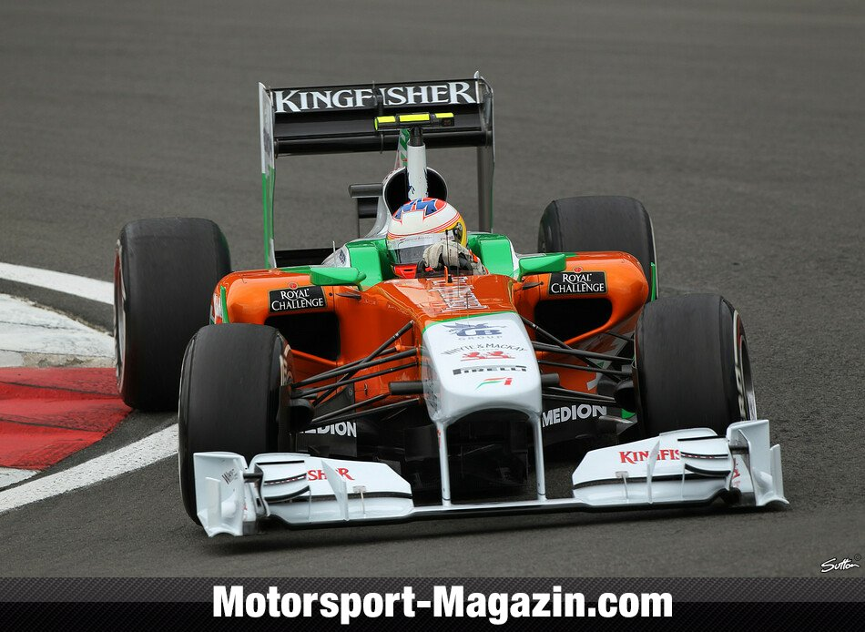 Formel 1 2011, Deutschland GP, N�rburg, Paul Di Resta, Force India, Bild: Sutton