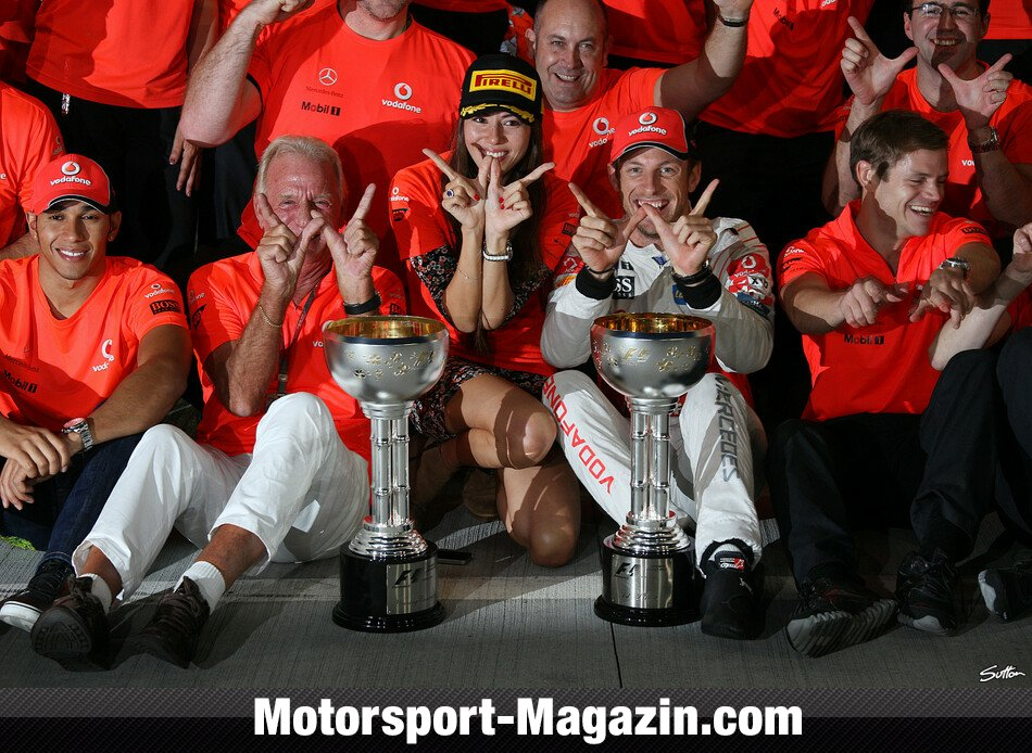 Formel 1 2011, Japan GP, Suzuka, Jenson Button, McLaren, Bild: Sutton