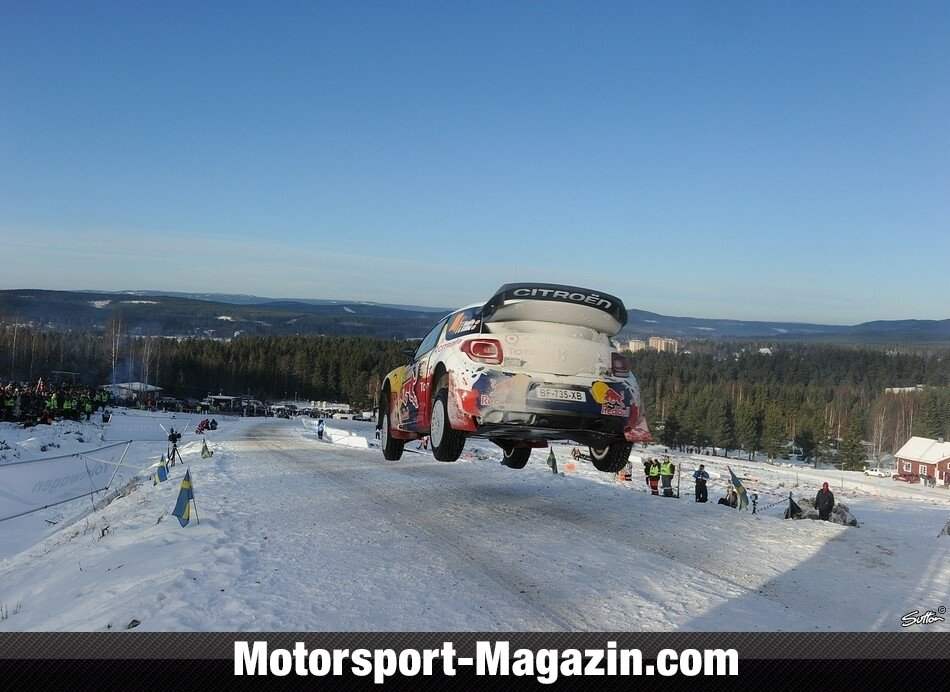 WRC 2012, Rallye Schweden, Karlstad, Thierry Neuville, Citro�n Junior World Rally Team, Bild: Sutton