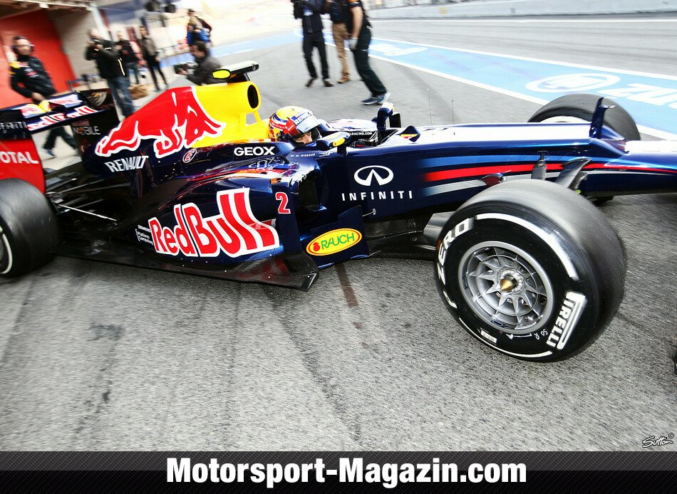 Formel 1 2012, Mark Webber, Red Bull Racing, Bild: Sutton