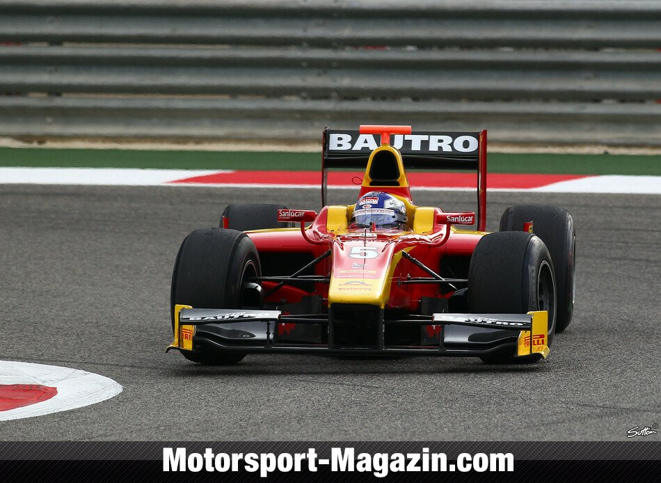 GP2 2012, Sakhir II, Sakhir, Fabio Leimer, Racing Engineering, Bild: Sutton