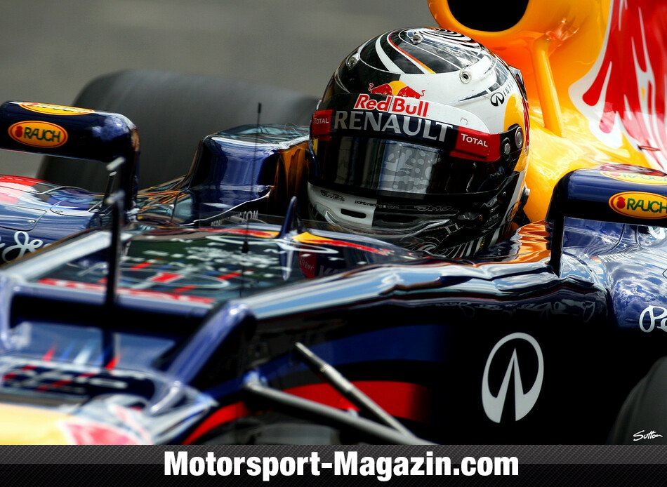Formel 1 2012, Mugello Test, Mugello, Sebastian Vettel, Red Bull Racing, Bild: Sutton