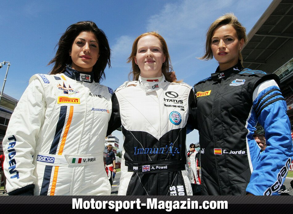 GP3 2012, Verschiedenes, Carmen Jorda, Ocean Racing Technology, Bild: Sutton