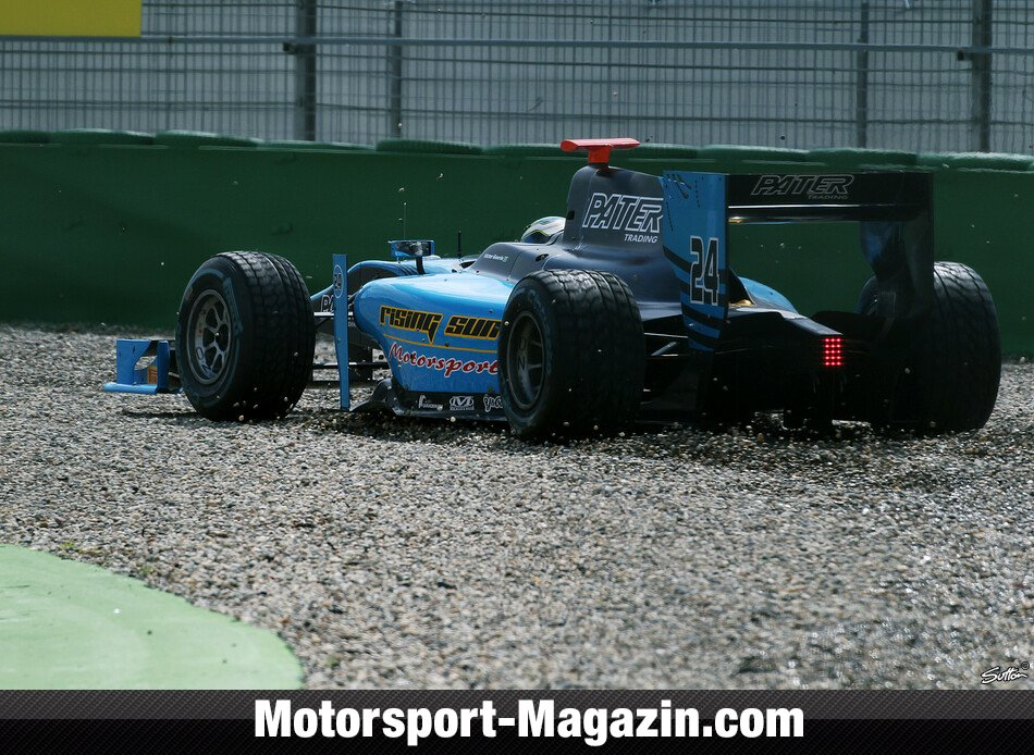 GP2 2012, Hockenheim, Hockenheim, Victor Guerin, Ocean Racing Technology, Bild: Sutton