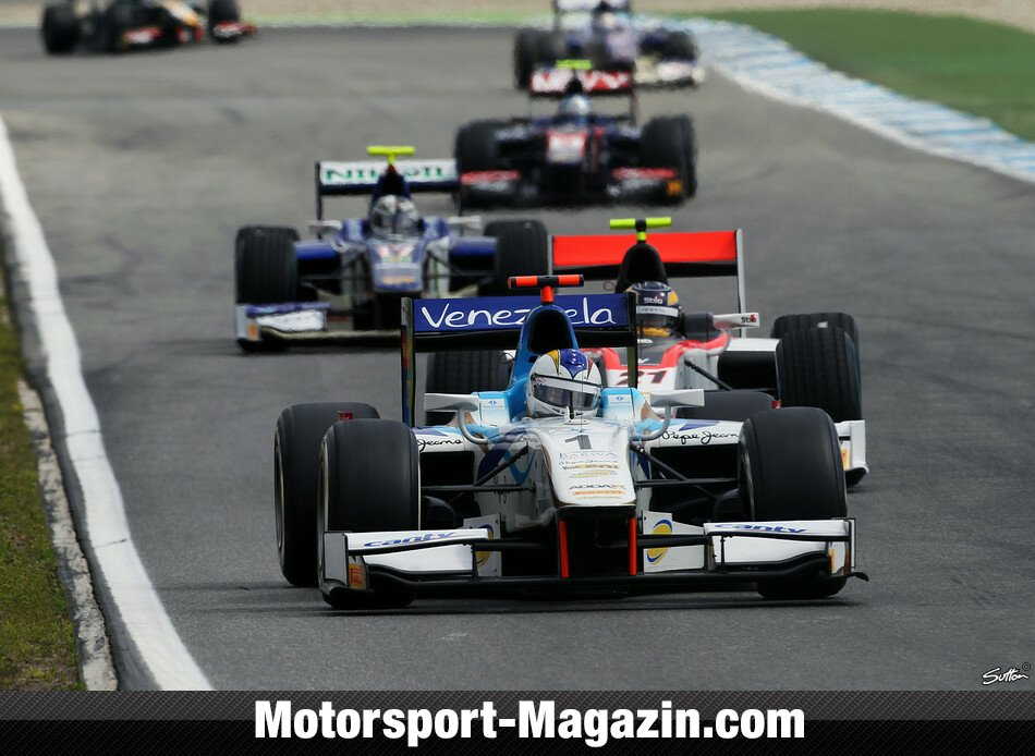 GP2 2012, Hockenheim, Hockenheim, Johnny Cecotto Junior, Barwa Addax Team, Bild: Sutton