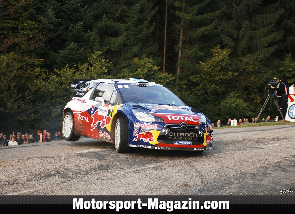 WRC 2012, Rallye Frankreich, Elsass, Mikko Hirvonen, Citroen World Rally Team, Bild: Sutton