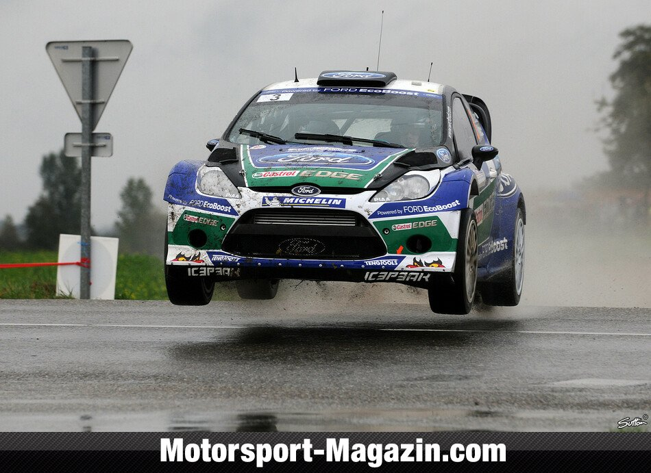 WRC 2012, Rallye Frankreich, Elsass, Jari-Matti Latvala, Ford World Rally Team, Bild: Sutton